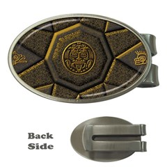 Aztec Runes Money Clips (oval)  by BangZart