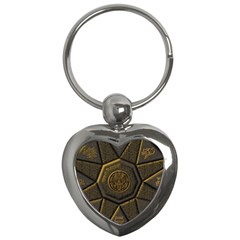 Aztec Runes Key Chains (heart)  by BangZart