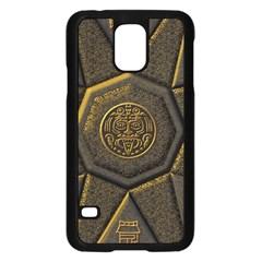 Aztec Runes Samsung Galaxy S5 Case (black) by BangZart