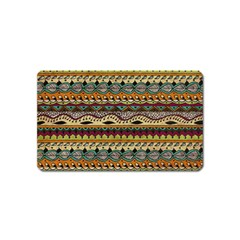 Aztec Pattern Ethnic Magnet (name Card) by BangZart
