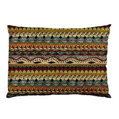 Aztec Pattern Ethnic Pillow Case (two Sides) by BangZart