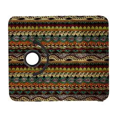 Aztec Pattern Ethnic Galaxy S3 (flip/folio) by BangZart