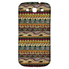 Aztec Pattern Ethnic Samsung Galaxy S3 S Iii Classic Hardshell Back Case by BangZart