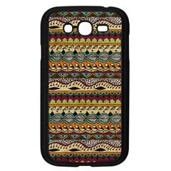 Aztec Pattern Ethnic Samsung Galaxy Grand Duos I9082 Case (black) by BangZart