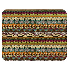 Aztec Pattern Ethnic Double Sided Flano Blanket (medium)  by BangZart
