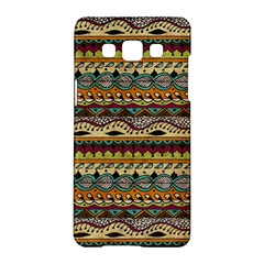 Aztec Pattern Ethnic Samsung Galaxy A5 Hardshell Case  by BangZart
