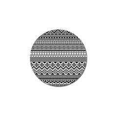 Aztec Pattern Design Golf Ball Marker (10 Pack) by BangZart