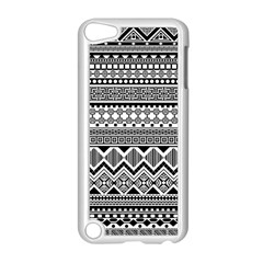 Aztec Pattern Design Apple Ipod Touch 5 Case (white) by BangZart