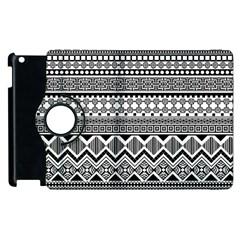 Aztec Pattern Design Apple Ipad 3/4 Flip 360 Case by BangZart