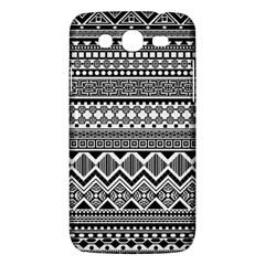 Aztec Pattern Design Samsung Galaxy Mega 5 8 I9152 Hardshell Case  by BangZart