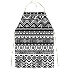 Aztec Pattern Design(1) Full Print Aprons by BangZart