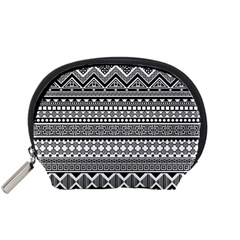 Aztec Pattern Design(1) Accessory Pouches (small)