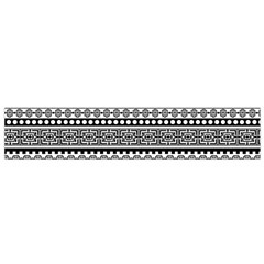 Aztec Pattern Design(1) Flano Scarf (small) by BangZart