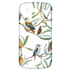 Australian Kookaburra Bird Pattern Samsung Galaxy S3 S Iii Classic Hardshell Back Case by BangZart