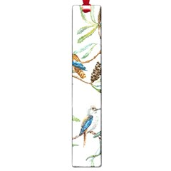 Australian Kookaburra Bird Pattern Large Book Marks by BangZart
