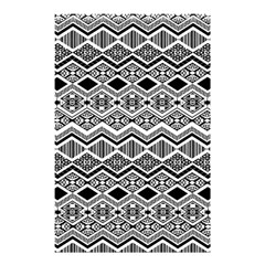 Aztec Design  Pattern Shower Curtain 48  X 72  (small)  by BangZart