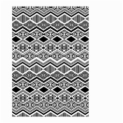 Aztec Design  Pattern Small Garden Flag (two Sides) by BangZart