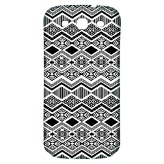 Aztec Design  Pattern Samsung Galaxy S3 S Iii Classic Hardshell Back Case by BangZart