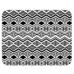 Aztec Design  Pattern Double Sided Flano Blanket (medium)  by BangZart