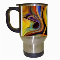 Art Oil Picture Music Nota Travel Mugs (white) by BangZart