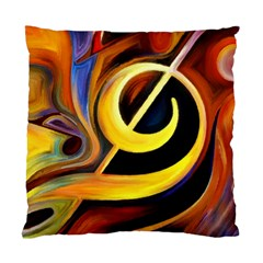 Art Oil Picture Music Nota Standard Cushion Case (two Sides) by BangZart