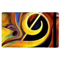 Art Oil Picture Music Nota Apple Ipad 2 Flip Case by BangZart