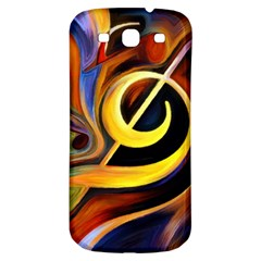 Art Oil Picture Music Nota Samsung Galaxy S3 S Iii Classic Hardshell Back Case by BangZart
