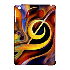 Art Oil Picture Music Nota Apple Ipad Mini Hardshell Case (compatible With Smart Cover) by BangZart