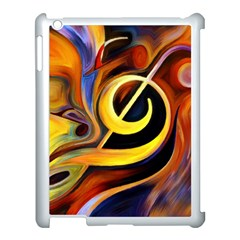 Art Oil Picture Music Nota Apple Ipad 3/4 Case (white) by BangZart