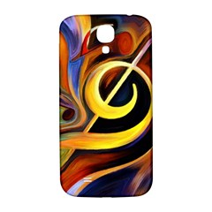 Art Oil Picture Music Nota Samsung Galaxy S4 I9500/i9505  Hardshell Back Case by BangZart
