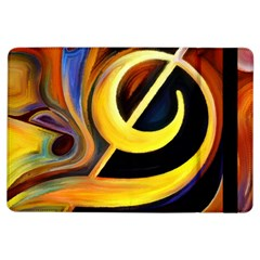 Art Oil Picture Music Nota Ipad Air Flip by BangZart