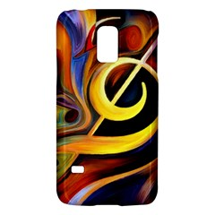 Art Oil Picture Music Nota Galaxy S5 Mini by BangZart