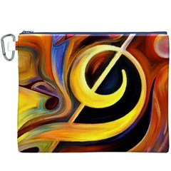Art Oil Picture Music Nota Canvas Cosmetic Bag (xxxl) by BangZart