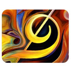 Art Oil Picture Music Nota Double Sided Flano Blanket (medium)  by BangZart