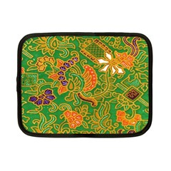 Art Batik The Traditional Fabric Netbook Case (small)  by BangZart