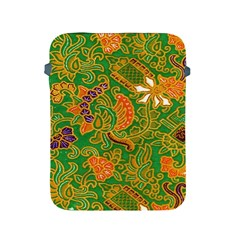 Art Batik The Traditional Fabric Apple Ipad 2/3/4 Protective Soft Cases by BangZart