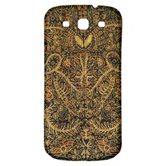 Art Indonesian Batik Samsung Galaxy S3 S Iii Classic Hardshell Back Case by BangZart