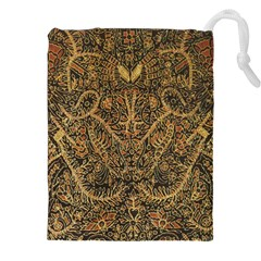 Art Indonesian Batik Drawstring Pouches (xxl) by BangZart