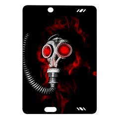 Gas Mask Amazon Kindle Fire Hd (2013) Hardshell Case by Valentinaart