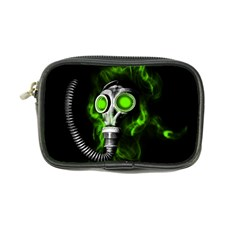 Gas Mask Coin Purse by Valentinaart