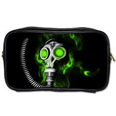 Gas Mask Toiletries Bags 2 Side by Valentinaart