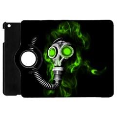 Gas Mask Apple Ipad Mini Flip 360 Case by Valentinaart
