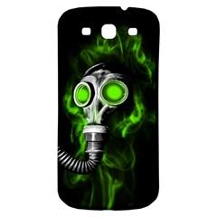 Gas Mask Samsung Galaxy S3 S Iii Classic Hardshell Back Case by Valentinaart