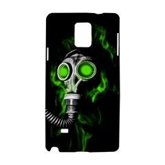Gas Mask Samsung Galaxy Note 4 Hardshell Case by Valentinaart