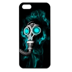 Gas Mask Apple Iphone 5 Seamless Case (black) by Valentinaart