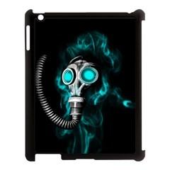 Gas Mask Apple Ipad 3/4 Case (black) by Valentinaart