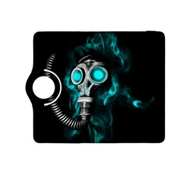 Gas Mask Kindle Fire Hdx 8 9  Flip 360 Case by Valentinaart
