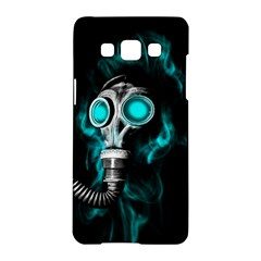 Gas Mask Samsung Galaxy A5 Hardshell Case  by Valentinaart