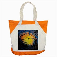 Soul Offering Accent Tote Bag by Dimkad