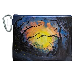 Soul Offering Canvas Cosmetic Bag (xxl) by Dimkad